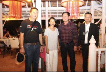 ประธานคณะกรรมาธิการคุ้มครองผู้บริโภค สภาผู้แทนราษฎรลงพื้นที่ตรวจเยี่ยมร้านค้า ร้านอาหาร ในช่วงใกล้เทศกาลปีใหม่